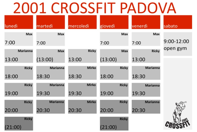 planning corsi crossfit 2017 nov